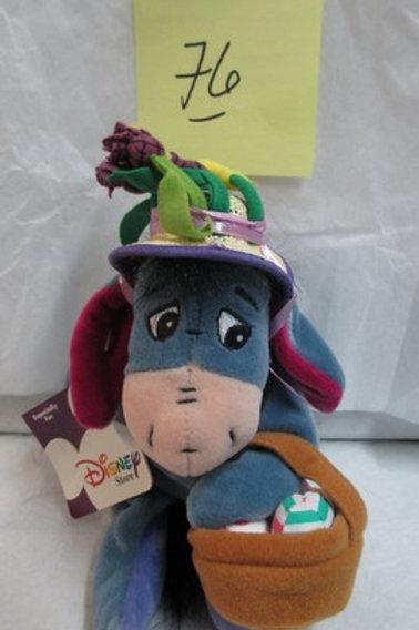 "Easter Bonnet Eeyore 9"" / Disney Beanies"