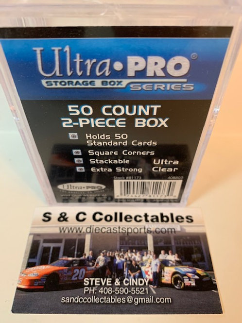 Ultra Pro 50 Count 2-Piece Box Set / Ultra Pro - Supplies