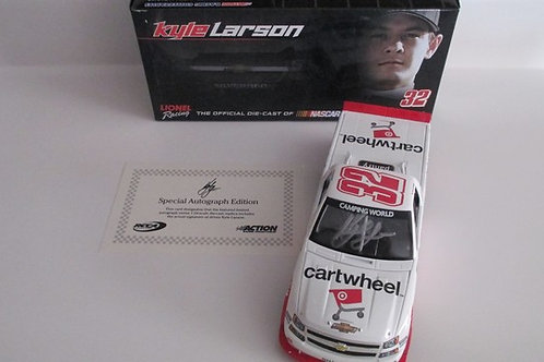 2014 Autographed Cartwheel by Target Truck / Kyle Larson 1:24  Wall