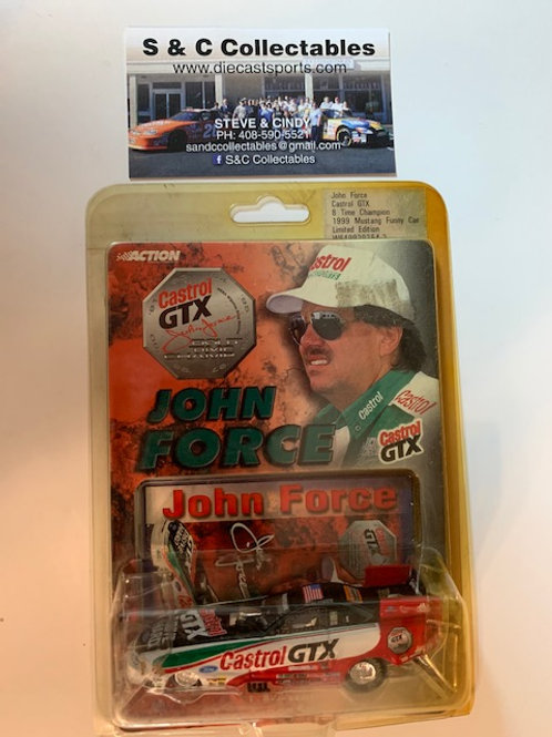 1999 Castrol GTX 8 Time Champion Funny Car / John Force 1:64  Box# DDD