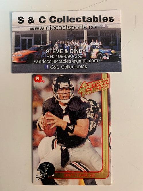 1991 Action Packed Brett Favre (Rookie Card)  / Football  Box# F1