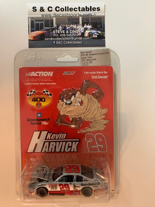 2001 Goodwrench Plus Looney Tunes the TAZ (Rookie Car) / Kevin Harvick 1:64