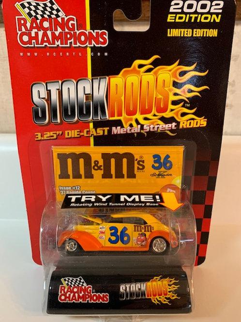 2002 M&M's Stock Rods / Ken Schrader 1:64