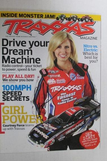 2013 Traxxas Magazine Autographed / Courtney Force