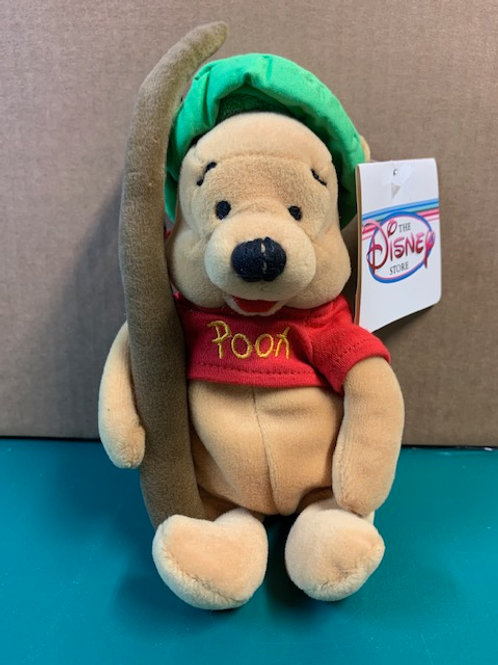 Disney Beanies Willie The Pooh Fishing  / All Are New