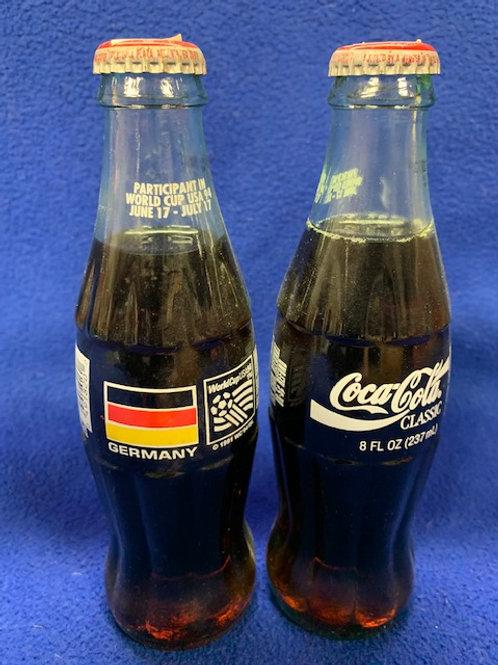 1994 Coca-Cola Germany World Cup Coke Bottle