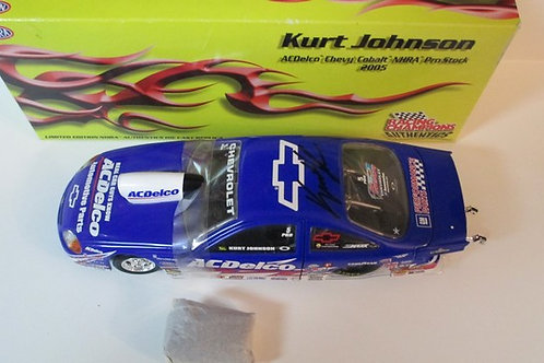 2005 Autographed  ACDelco Pro Stock   / Kurt Johnson 1:24
