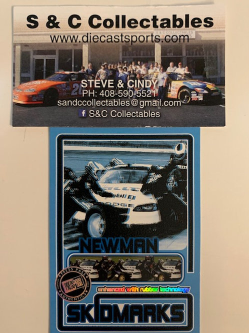 2005 Enhanced with Rubber Race-Used Technology  / Ryan Newman   Cards