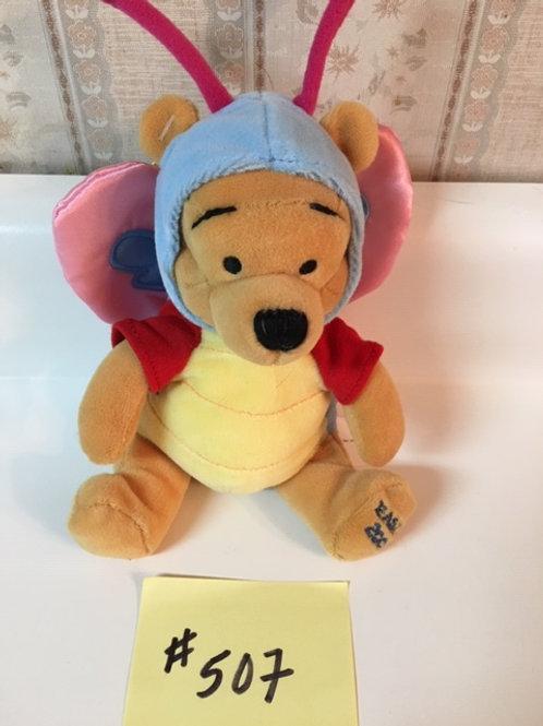 "Butterfly Pooh 8"" / Disney Beanies"