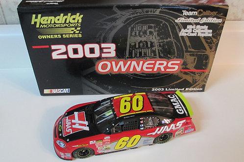 2003 HAAS  Hendrick Motorsports (Rookie Car) / Brian Vickers 1:24