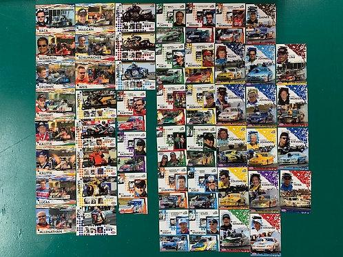 2005 Press Pass (NHRA) 50  Card Set (NHRA) Box# DD
