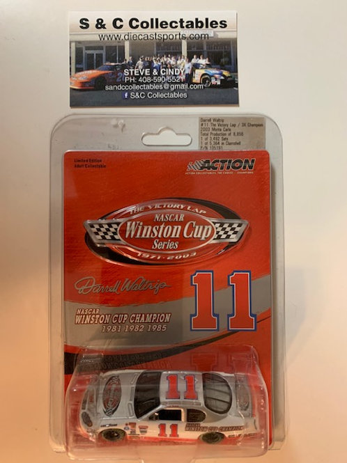 2003 Winston Cup Series  The Victory Lap 3X Champ / Darrell Waltrip   1:64