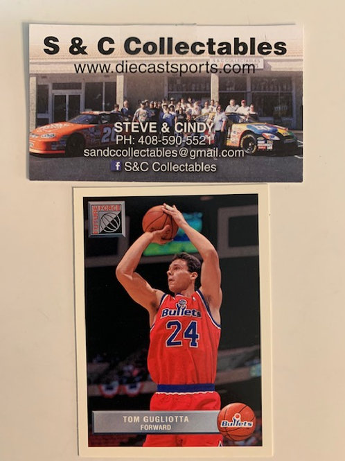 1992-93  Upper Deck Tom Gugliotta Forward  Card# P50  / Basketball--BK1