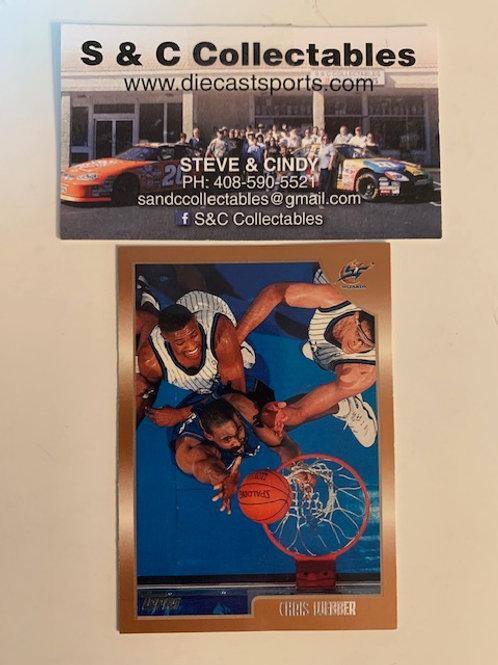 1998-99 Topps Chris Webber Card# 13/ Basketball-BK1