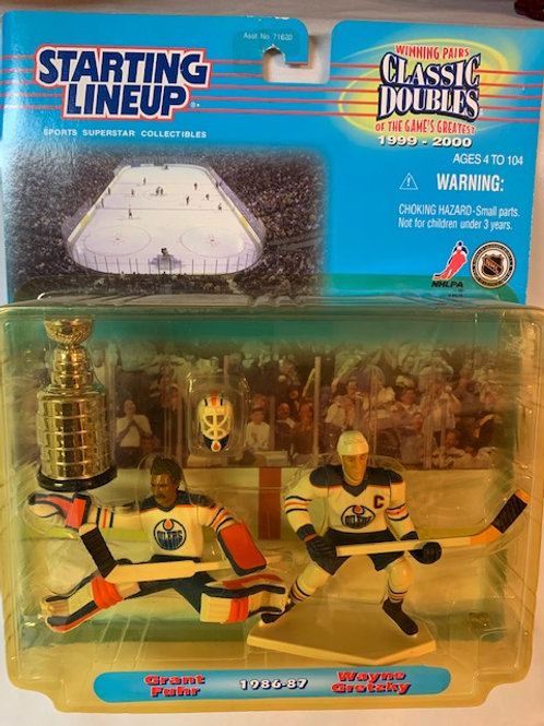 1999 Starting LineUp Classic Doubles Grant Fuhr & Wayne Gretzky /  Box# 42