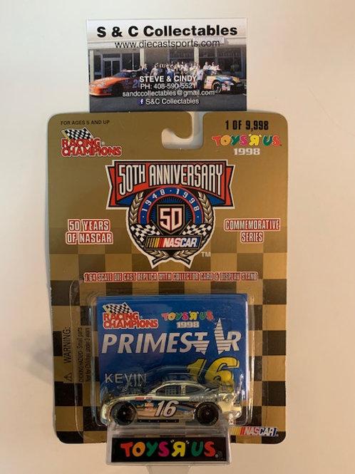 1998 Primestar Toy's R Us Gold Car / Kevin LePage 1:64  Box# 42
