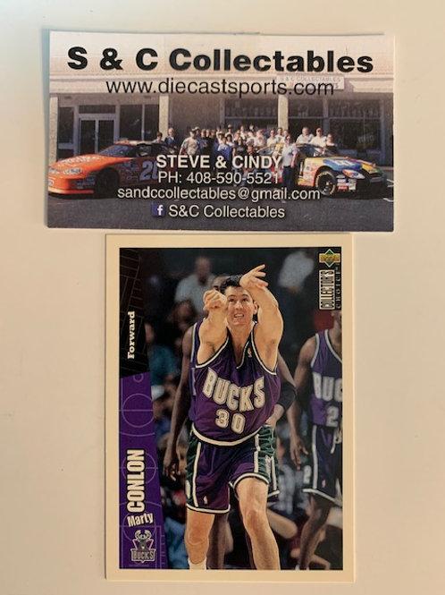 1996-97 Upper Deck Marty Conlon Forward Card# 87 / Basketball--BK1