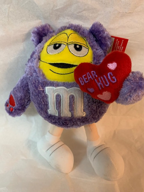 ???? M&M  Screaming Yellow Be my Valentine / M&M Stuff Box#1