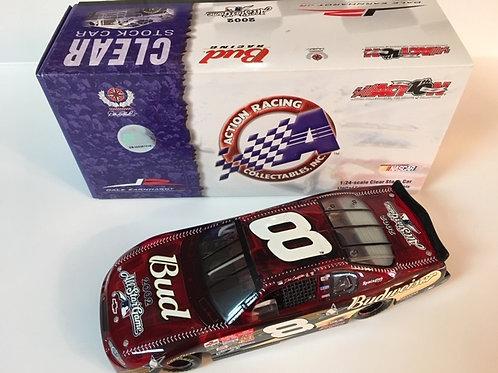 2002 Red Budweiser - MLB All-Star Game Clear Car / Dale Earnhardt Jr. 1:24