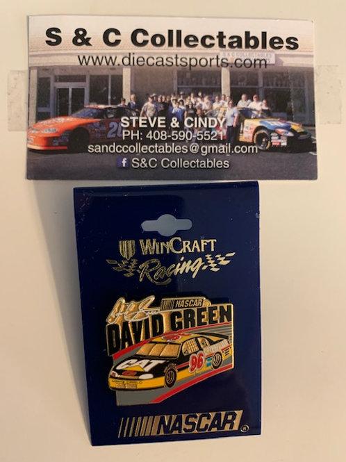 2000 CAT Hat Pins / David Green  Hat Pin #5