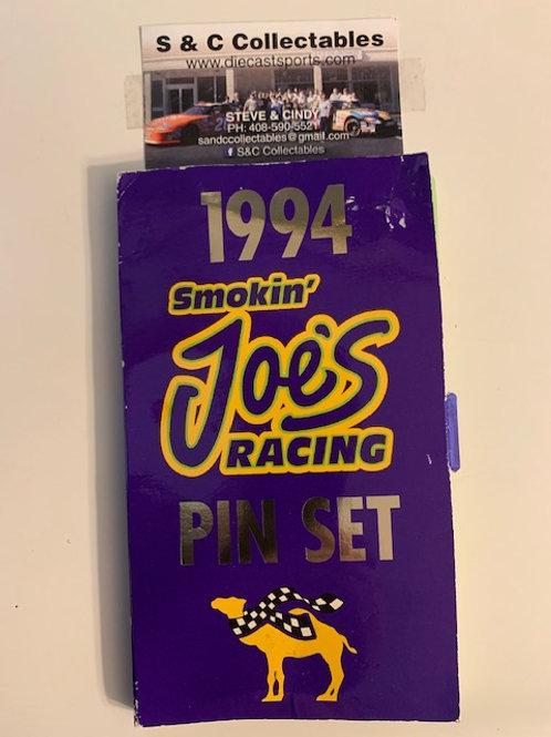 1994 Smokin' Joe's Racing 6 Pin Set / Various Drivers  Hat Pin #5