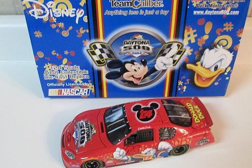 2004 Disney Daytona 500 Donald Duck   / Event Car 1:24