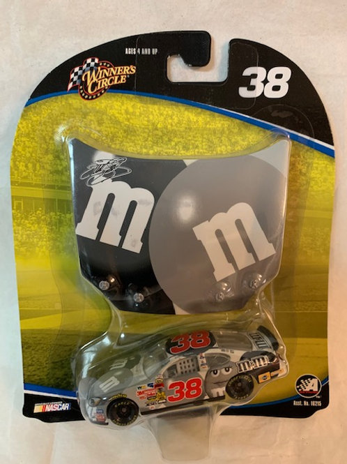 2004 M&M's with Black and White Hood Magnet / Elliott Sadler 1:64 Box#14