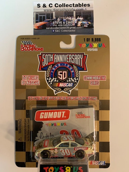 1998 Gumout Toy's R Us Gold Car / Darrike Cope 1:64  Box# 42