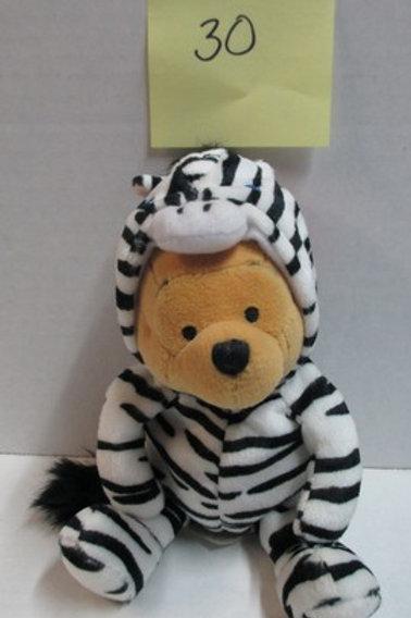 Zebra Pooh  / Disney Beanies