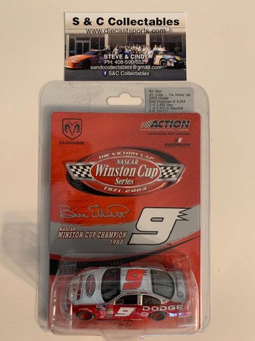 2003  NASCAR Winston Cup Series -  The Victory Lap /  Bill Elliott 1:64