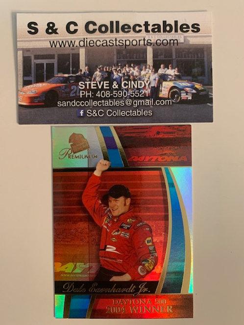 2004 Premium Daytona 500 Winner  / Dale Earnhardt  Jr.  Box# FF