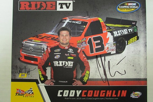 2017 RIDE TV Autographed / Cody Coughlin