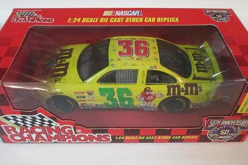 1998 M&M's NASCAR 50th Anniversary / Ernie Irvan 1:24 Shelf