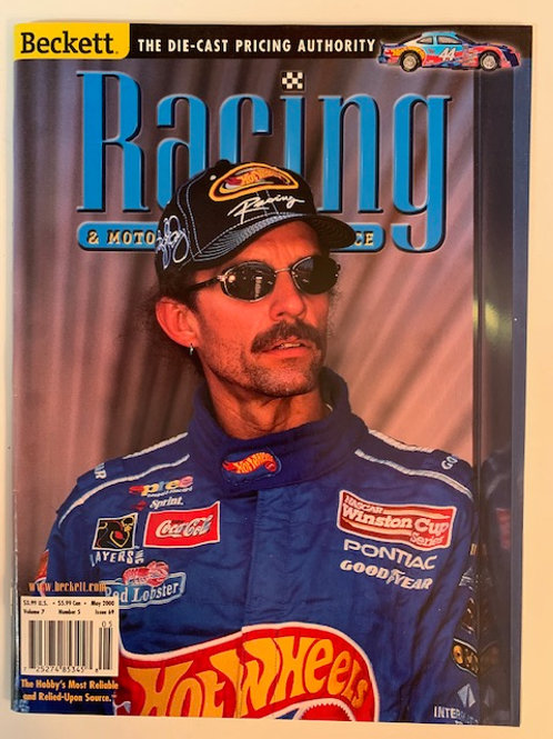 2000 Beckett Card Monthly Issue# 69 / Kyle Petty