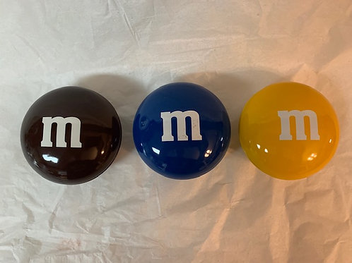 ???? M&M 3 Tin Set / M&M Stuff  Box# 98