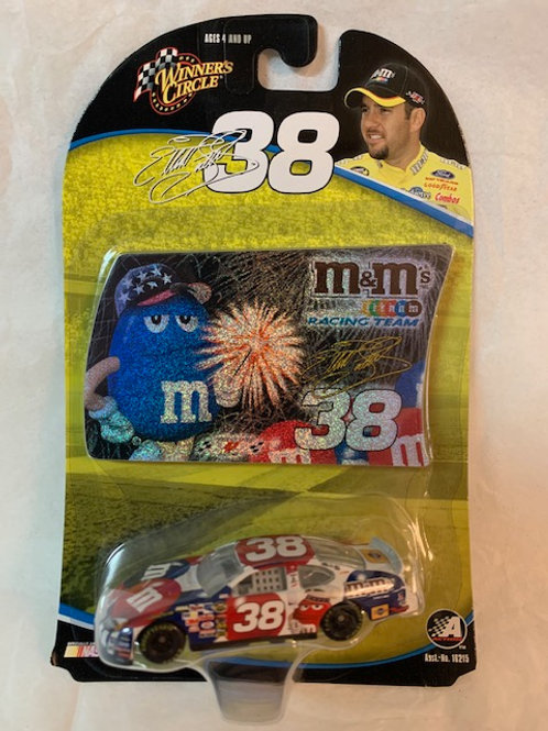 2004 M&M's 4th of July with Sticker / Elliott Sadler 1:64 Box#14