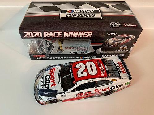 2020 Sports Clips The Busch Clash Raced Win /  Erik Jones 1:24 Wall