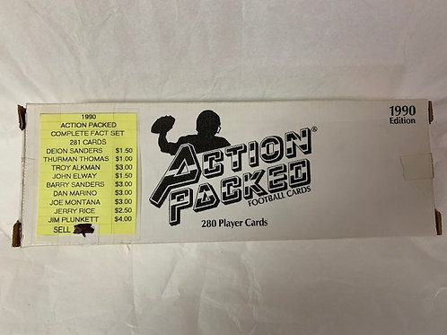 1990 Action Pack Football Card Set  (Never Opened)  / Football Box# 43
