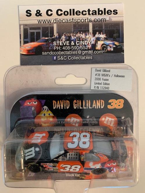 2006 M&M's Halloween (Rookie Car)  / David Gilliland 1:64   DDD