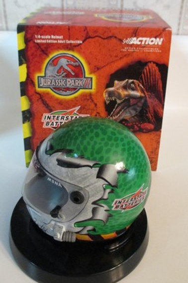 2001 Interstate Batteries - Jurassic Park Helmet / Bobby Labonte 1:4