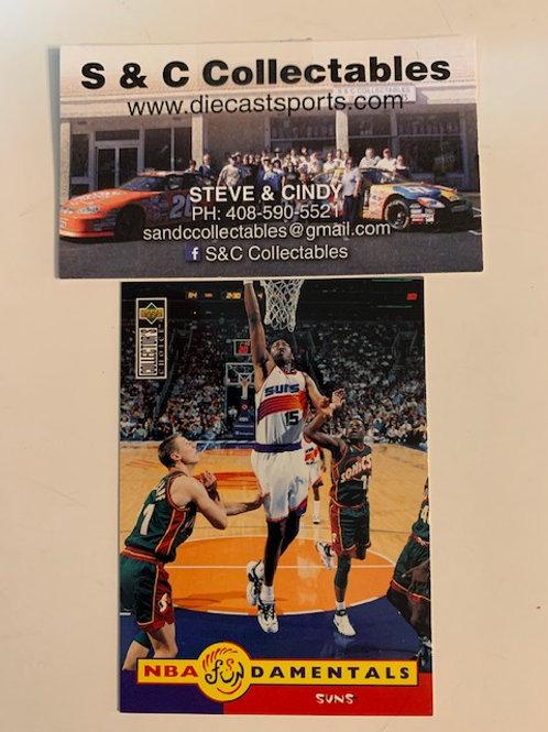 1996-97 Upper Deck Danny Manning Card# 186  / Basketball--BK1