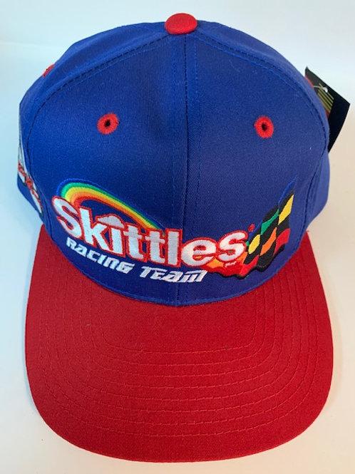 1998 Skittles Racing Team Hat  (NEW) / Ernie Irvan  Hat#5