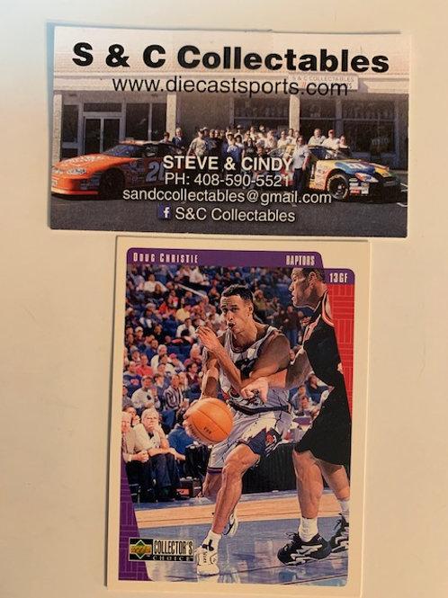 1997-98 Upper Deck  Doug Christie Card# 137  / Basketball--BK1