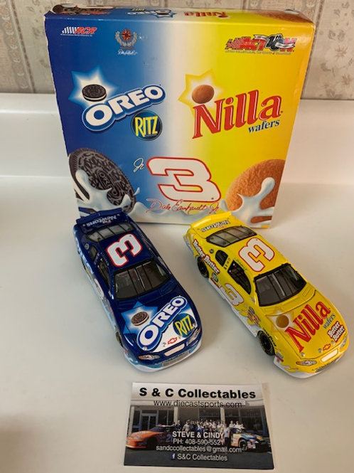 2002 Nilla Wafers - Nutter Butter 2 Car Set  / Dale Earnhardt  Jr.  1:32