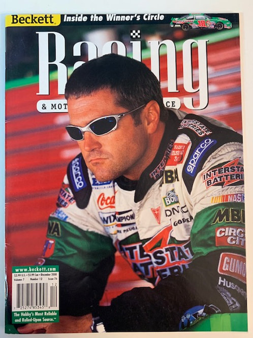 2000 Beckett Card Monthly Issue# 76 /Bobby Labonte