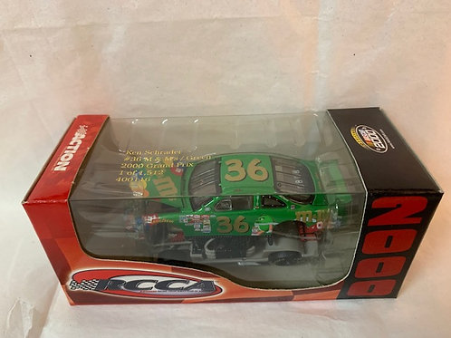 2000 M&M's and Ms Green Total Concept  (RCCA Car)  / Ken Schrader 1:64 Shelf