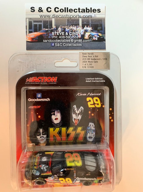 2004 GM GoodWrench Chevy Rock 'n Roll - KISS / Kevin Harvick 1:64