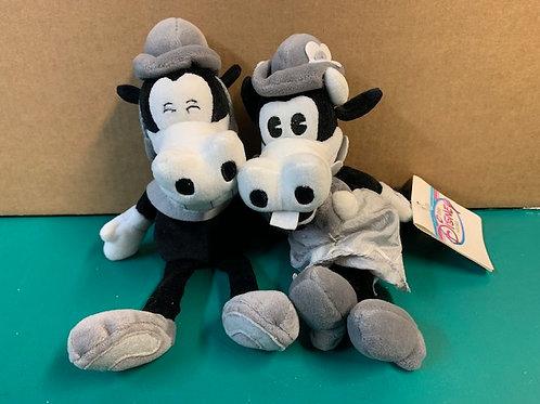 Disney Beanies ClaraBell & Horace