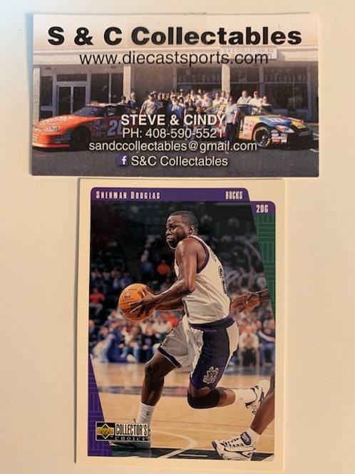 1997-98 Upper Deck Sherman Douglas  Card# 78  / Basketball--BK1