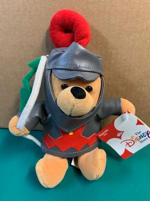 "Disney Beanies Winnie the Pooh Knight 8"""